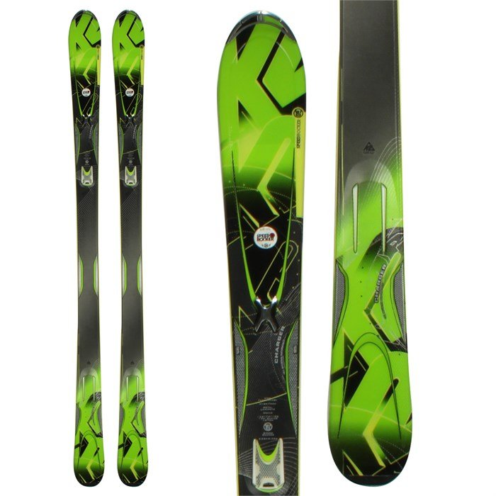 K2 - A.M.P. Charger Skis 2012