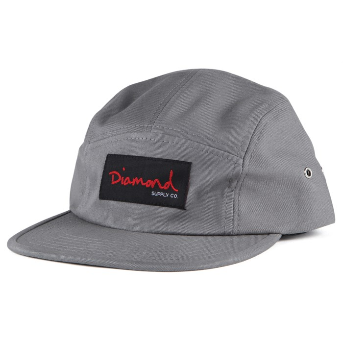 Diamond Supply Co. - OG Script 5 Panel Hat