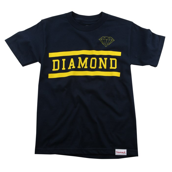 Diamond Supply Co. - Collegiate T Shirt