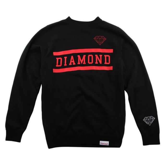 Diamond Supply Co. - Collegiate Crew Neck Sweatshirt