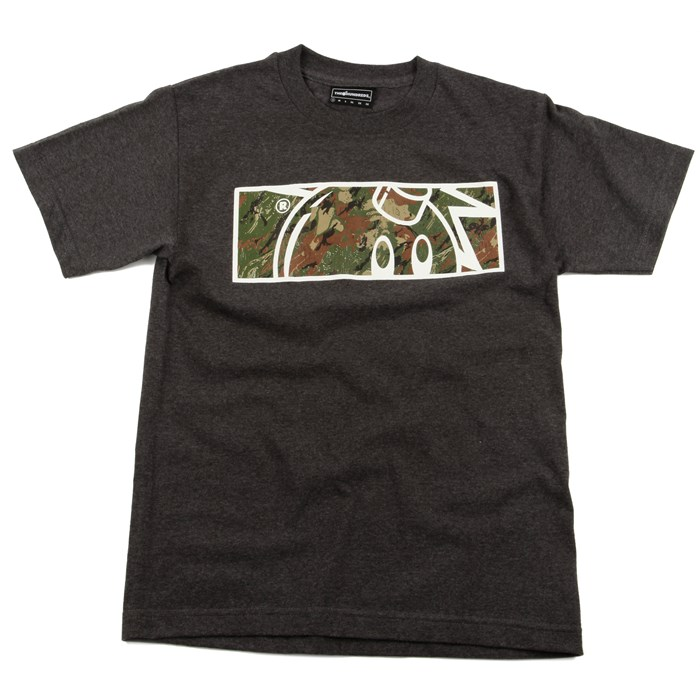 The Hundreds - Camo Rectangle Adam T Shirt