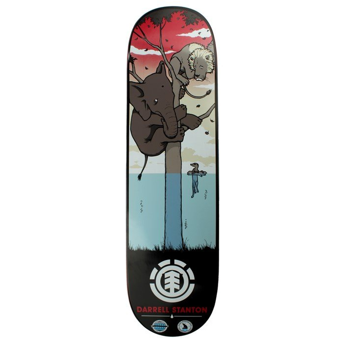 Element - Darrell Global Warming Skateboard Deck
