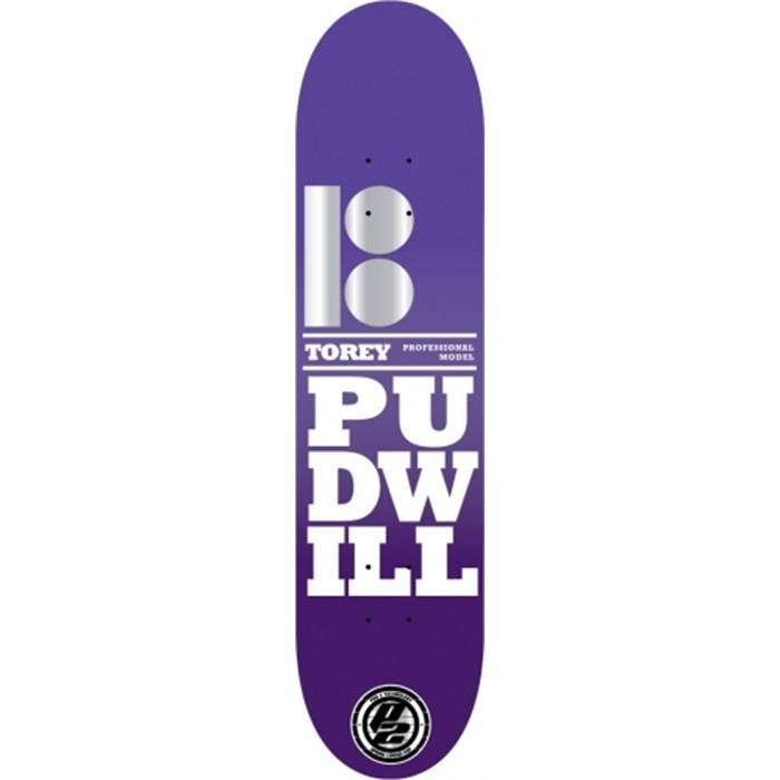 Plan B - Torey Pudwill Stacked Skateboard Deck