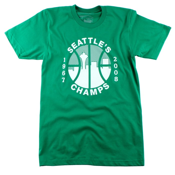 Casual Industrees - Seattle's Champs T Shirt