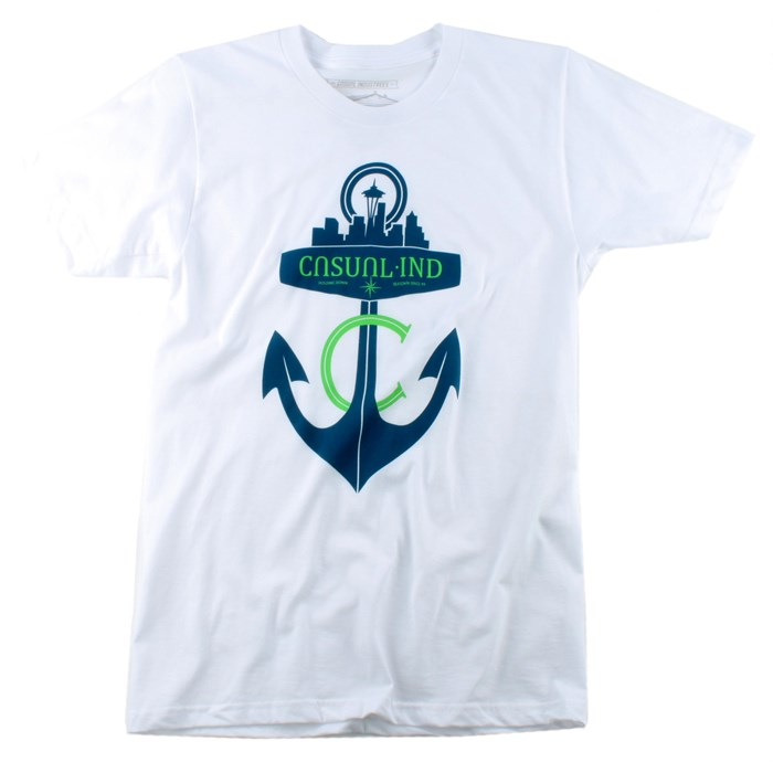 Casual Industrees - Anchor T Shirt