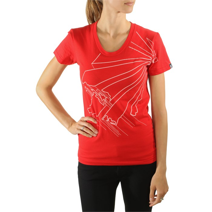 Casual Industrees - Casual Industrees WA Outline 2.0 T Shirt - Women's