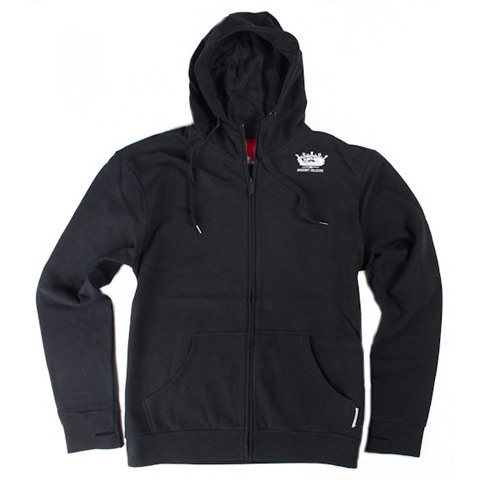 Spacecraft - Crown Black Zip Hoodie