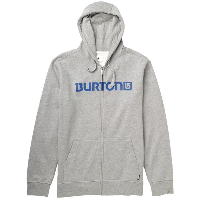 Burton - Logo Horizontal Full Zip Hoodie