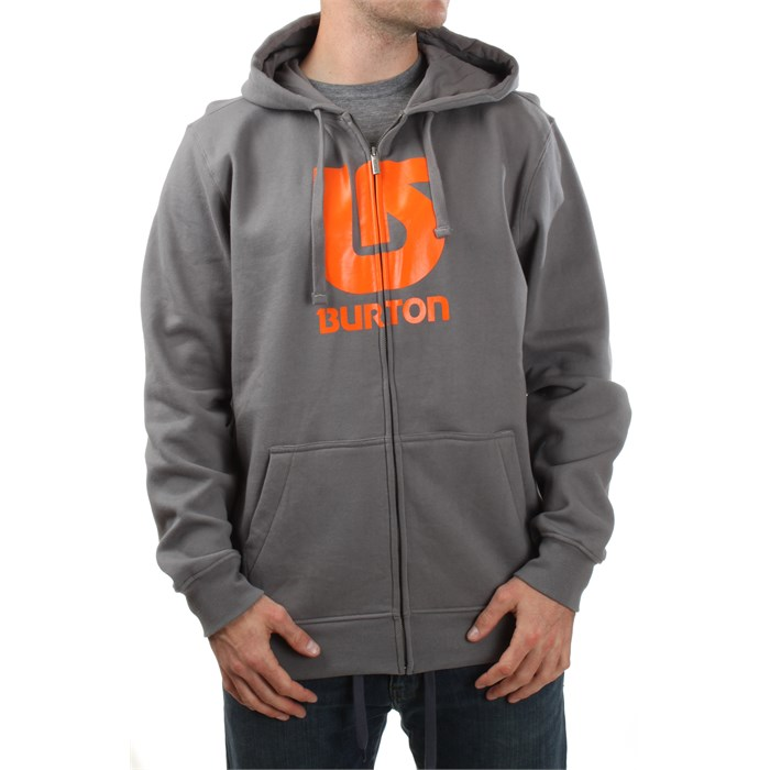 Burton - Logo Vertical Zip Hoodie