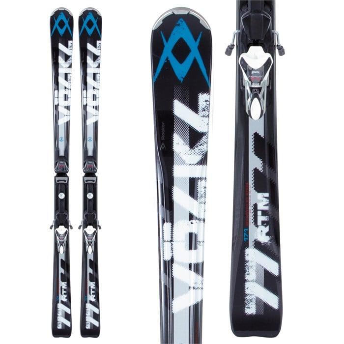 Volkl - RTM 77 Skis + 4Motion 11.0 TC Bindings 2013