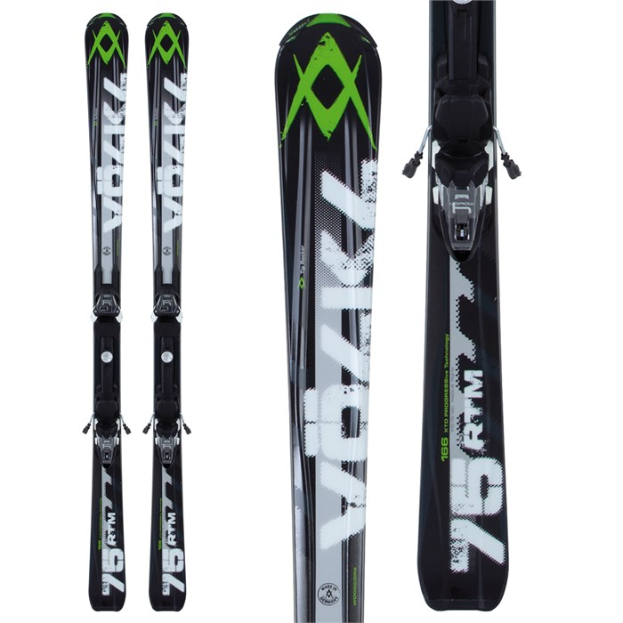 Volkl RTM 75 Skis + 4Motion 10.0 Bindings 2013