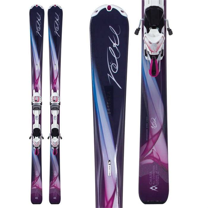 Volkl - Volkl Chiara Skis + Essenza 4Motion 11.0 TC Bindings - Women's 2013
