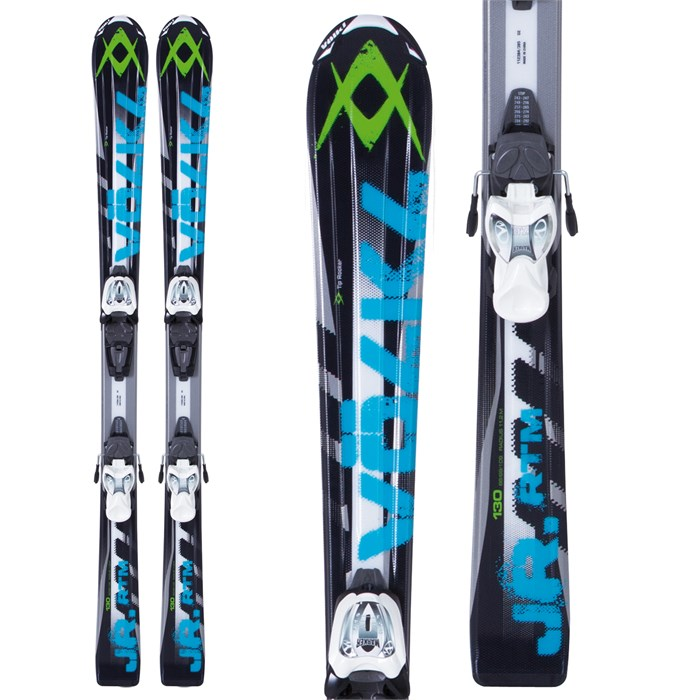 Volkl - RTM Jr Skis + 3Motion 7.0 Bindings - Youth 2013