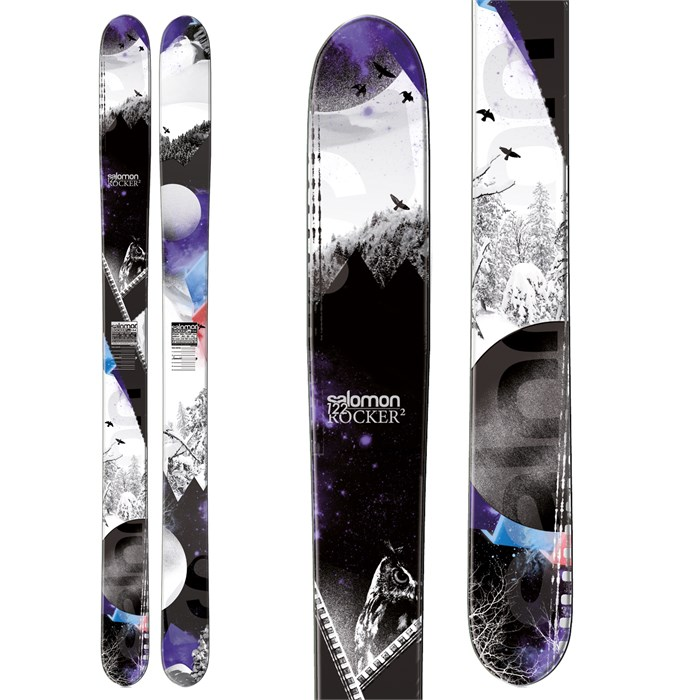 Salomon - Rocker2 122 Skis 2013