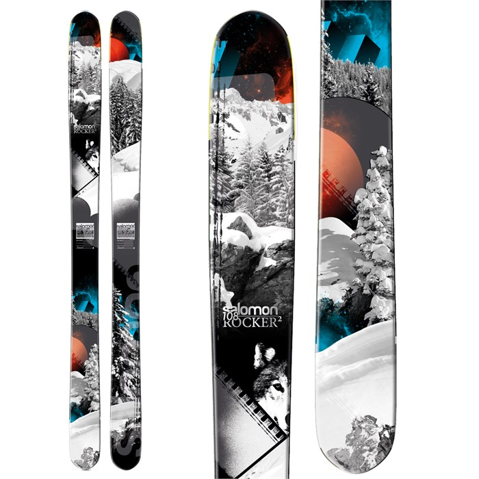 Salomon - Rocker2 108 Skis 2013