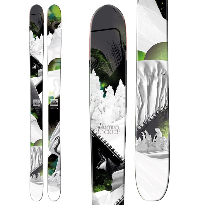 Salomon - Rocker2 115 Skis 2013