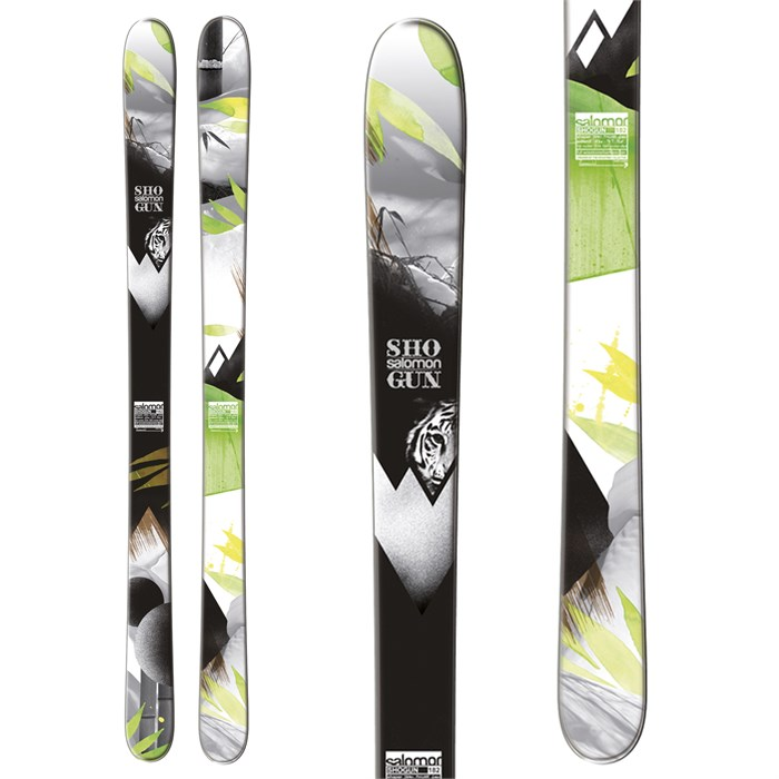 Salomon - Shogun 100 Skis 2013