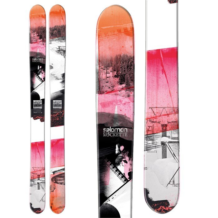 Salomon - Rockette 115 Skis - Women's 2013