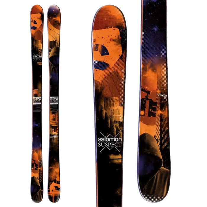 Salomon - Suspect Skis 2013