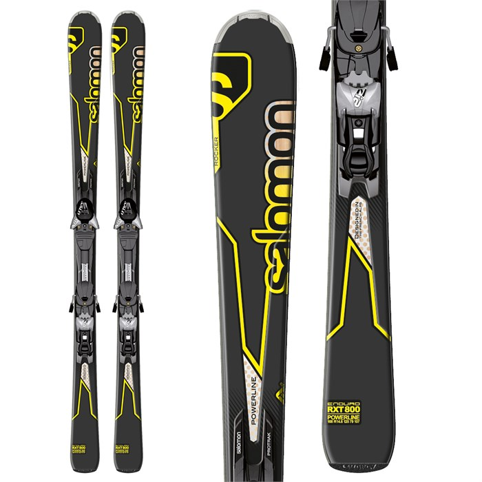 Salomon - Enduro RXT 800 Skis + Z12 Bindings 2013
