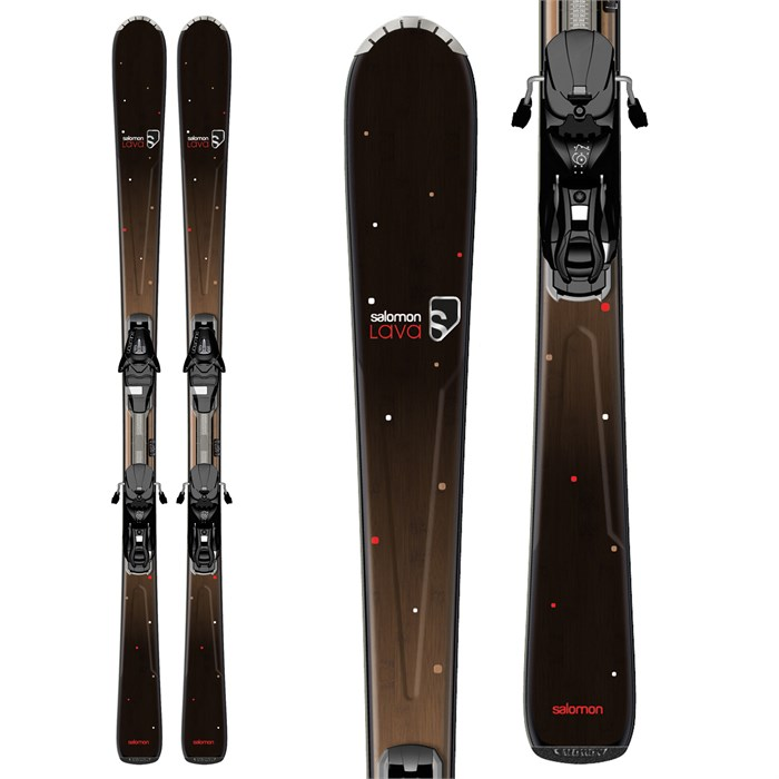 Salomon - Origins Lava Skis + L9 Bindings - Women's 2013