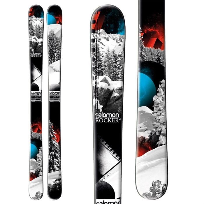 Salomon - Rocker2 Jr Skis - Youth - Boy's 2013