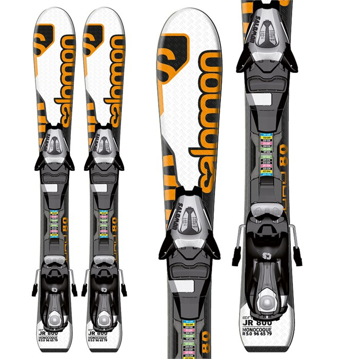 Salomon - Enduro Jr 800 Skis + L7 Bindings - Youth - Boy's 2013