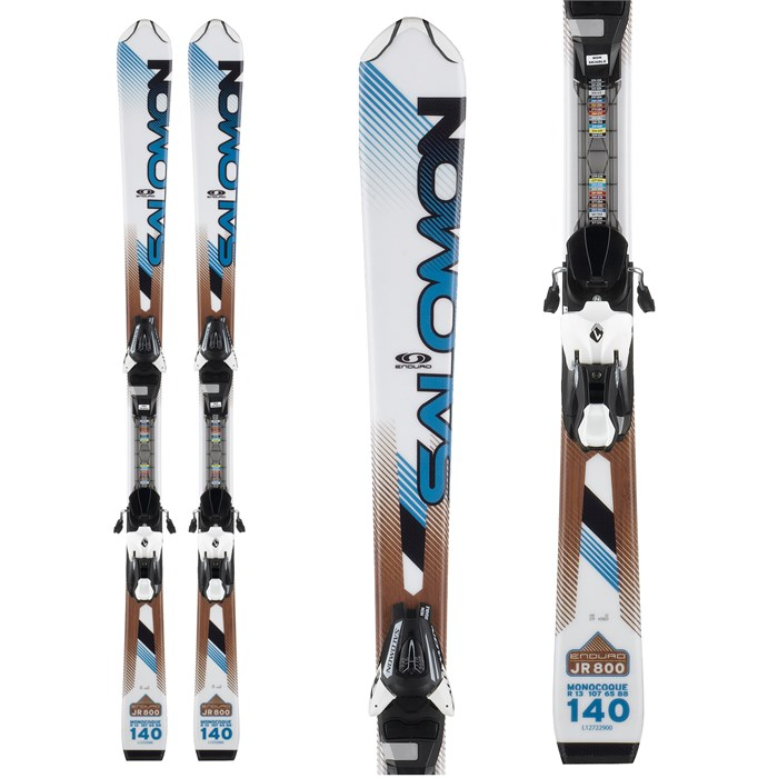 Salomon - Enduro Jr 800 Skis + C5 Bindings - Youth - Boy's 2013