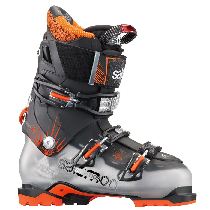 lav pris outlet butik fabriksbutikker Salomon Quest 90 Ski Boots 2014