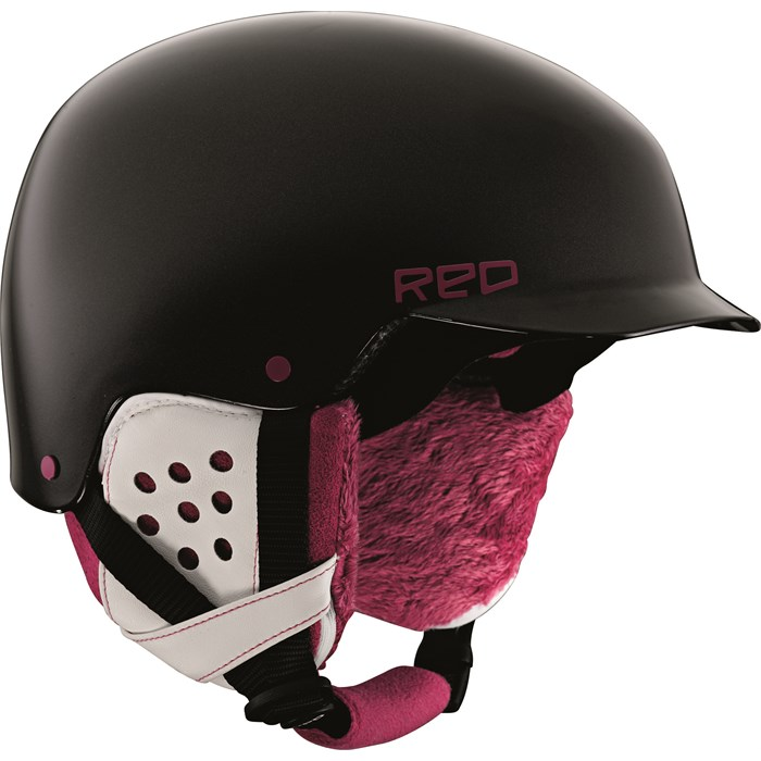 Red - Asylum Helmet - Women's