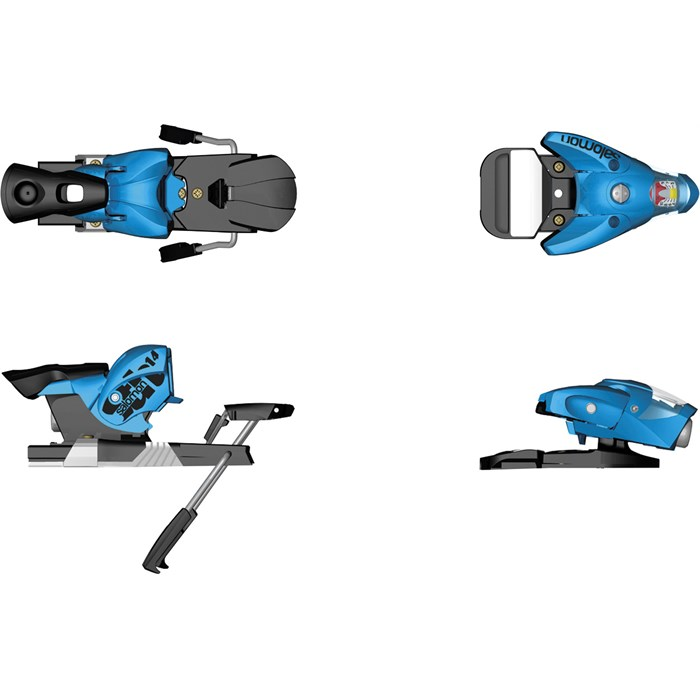 Salomon - STH 14 Driver Ski Bindings (115mm Brakes) 2013
