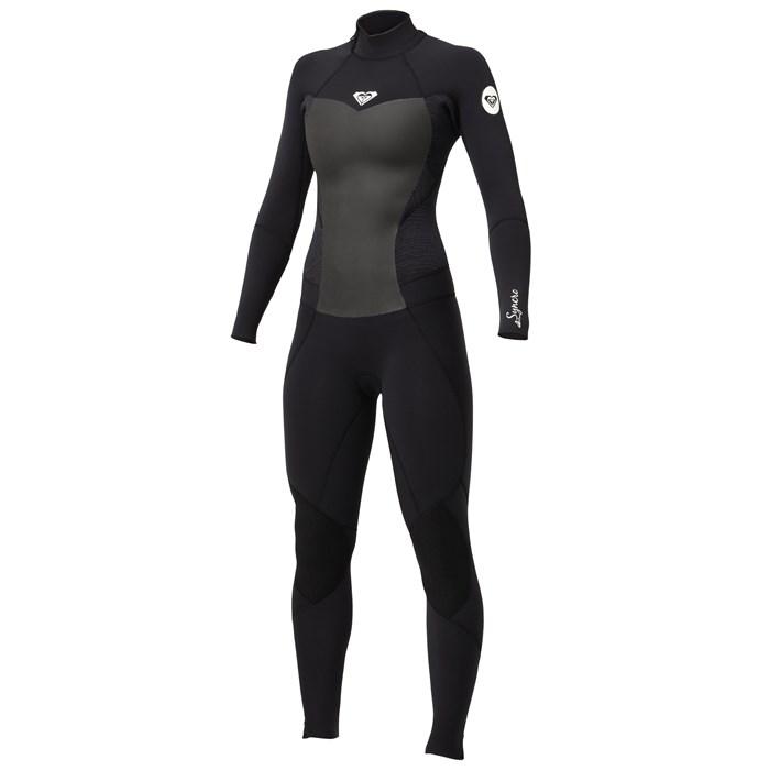Roxy - Synchro 5/4/3 Back Zip Full Wetsuit - Women's
