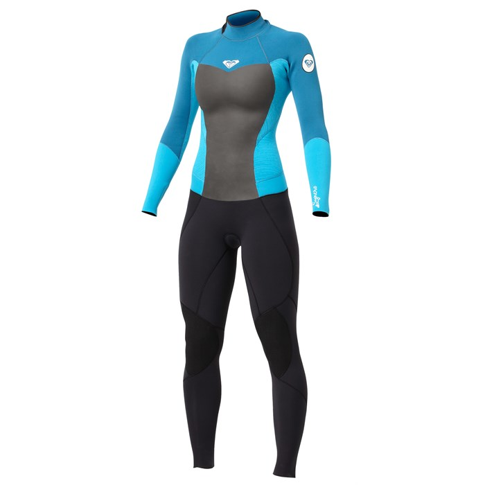 Roxy - Synchro 3/2 Flatlock Back Zip Full Wetsuit - Women's