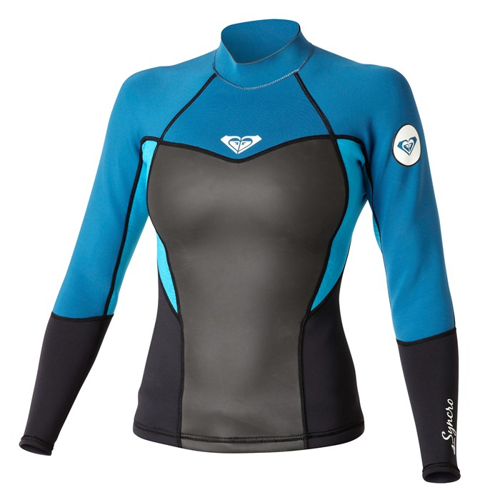 Roxy - Synchro 1.5mm Long Sleeve Wetsuit Jacket - Women's
