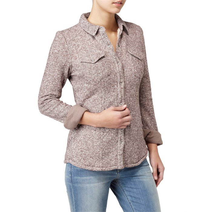 Quiksilver - The Fling Campfire Button Down Shirt - Women's