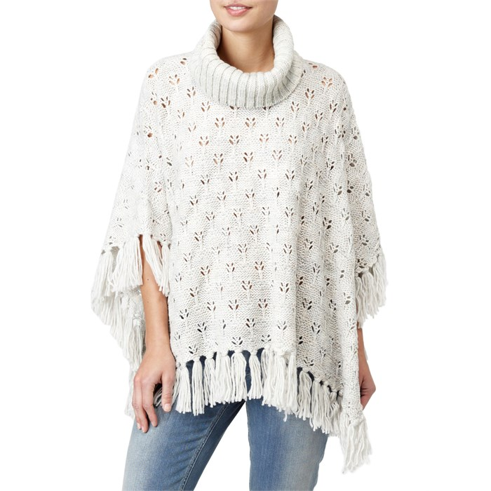 Quiksilver - Log Cabin Poncho Sweater - Women's
