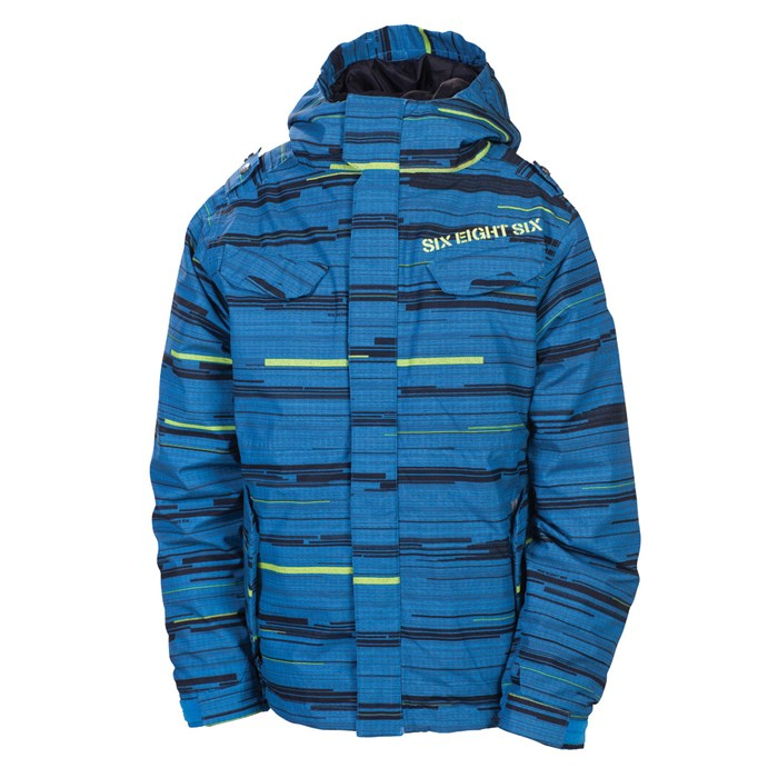 686 - Smarty Streak Insulated Jacket - Youth - Boy's
