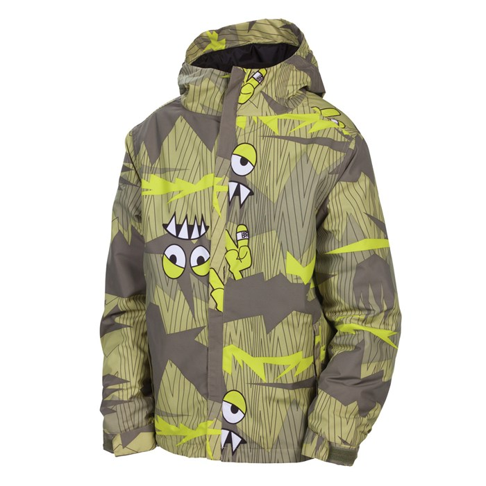 686 - Camotooth Insulated Jacket - Youth - Boy's ...