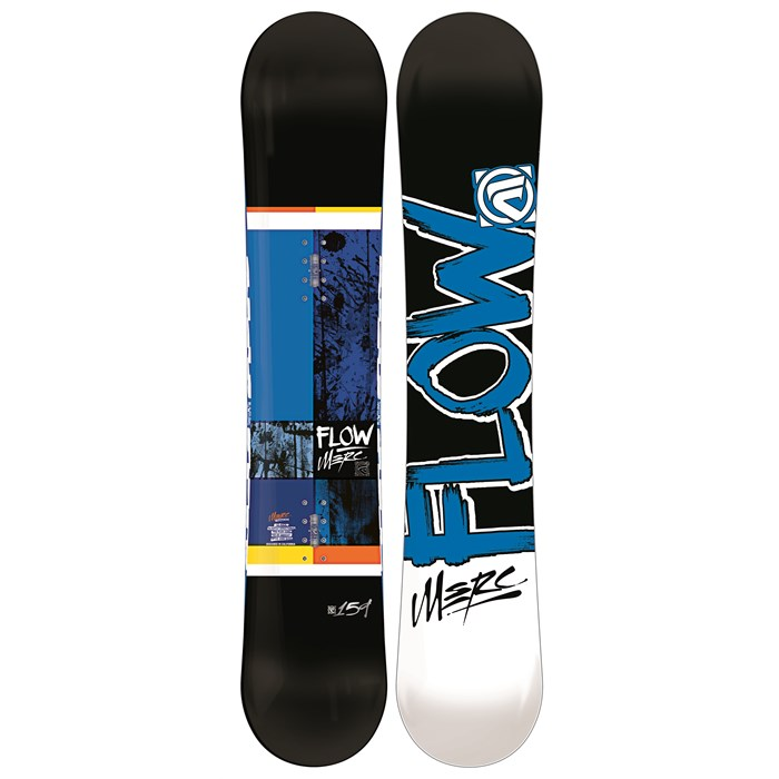 Flow - Merc (Black) Wide Snowboard 2013