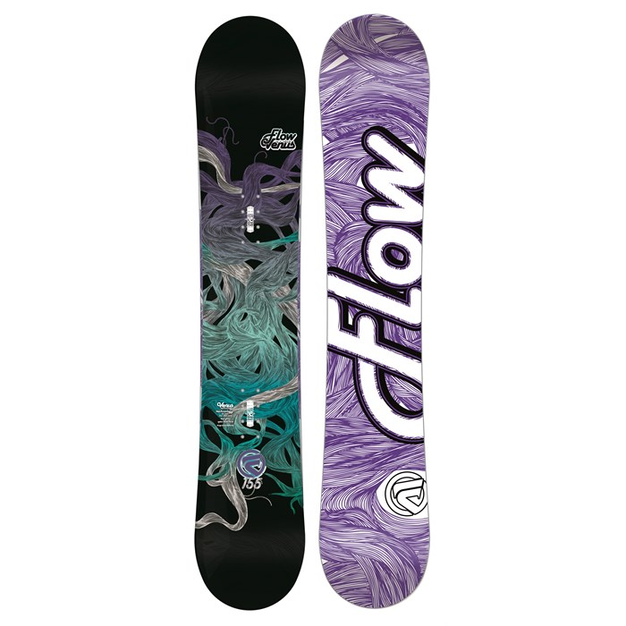 Flow - Venus (Black) Snowboard - Women's 2013
