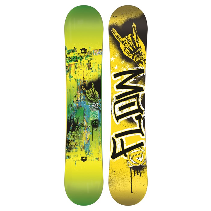 Flow - Micron Verve Snowboard - Youth - Boy's 2013