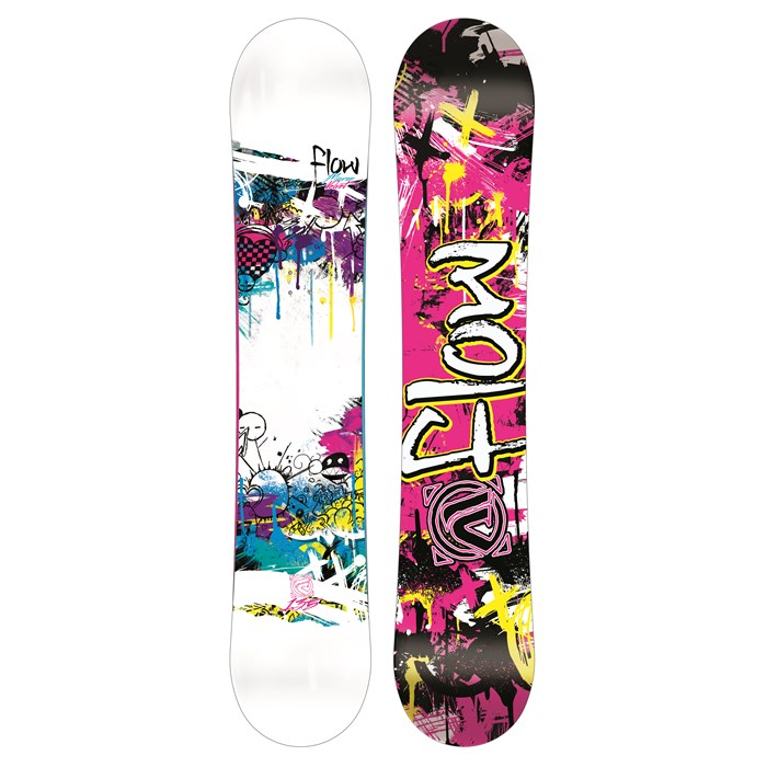 Flow - Micron Velvet Snowboard - Youth - Girl's 2013