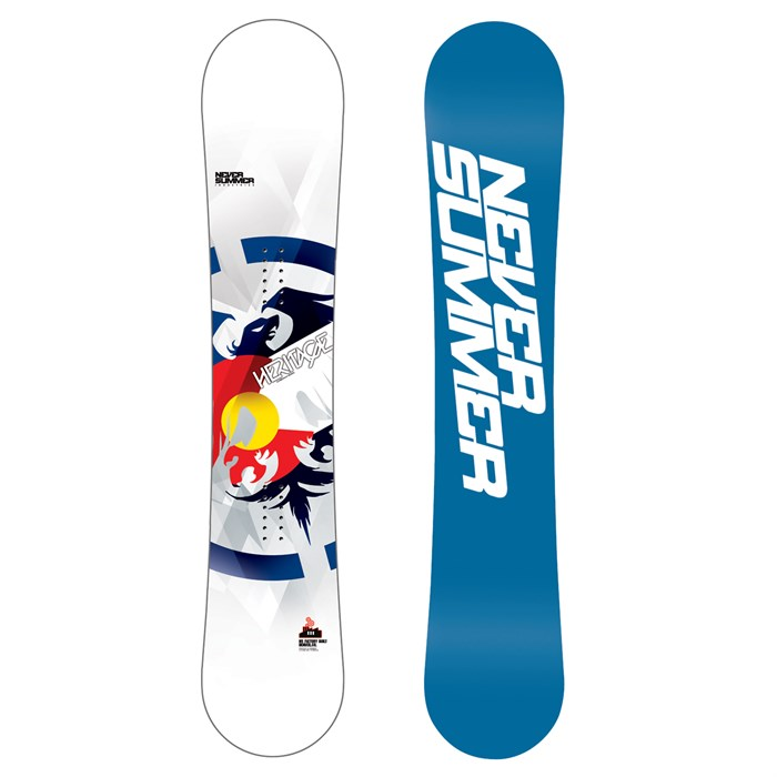 Never Summer - Heritage Snowboard 2013