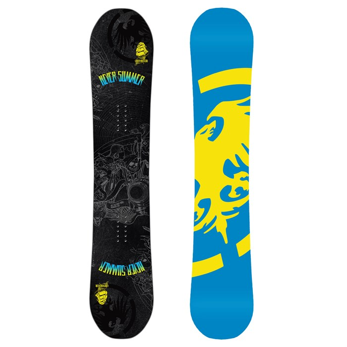 Never Summer - Revolver Mid Wide Snowboard 2013