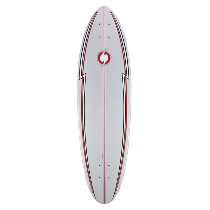 64ae76ae6 Surf One Silver Surfer Skateboard Deck   evo
