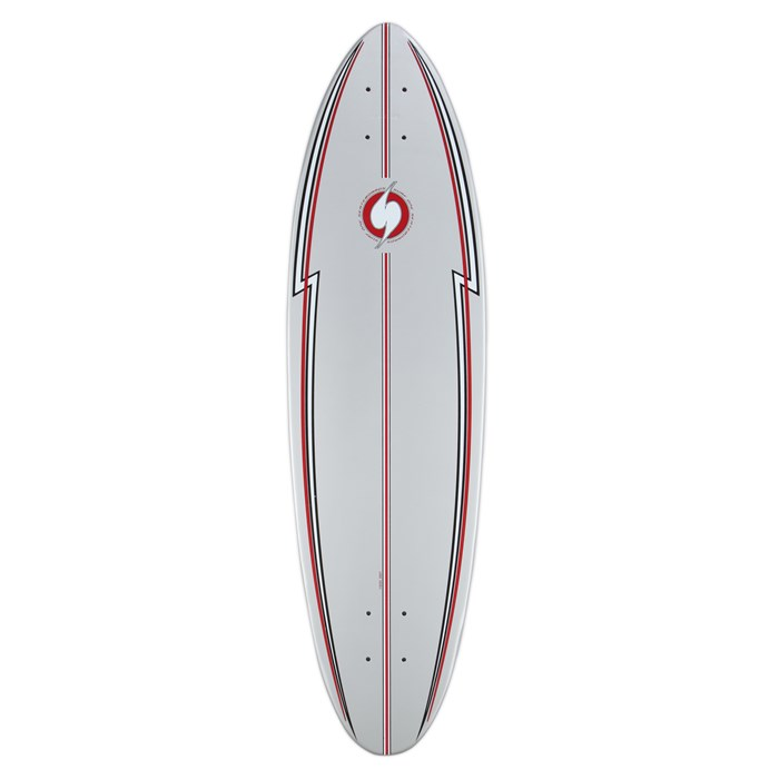 Surf One - Silver Surfer Skateboard Deck