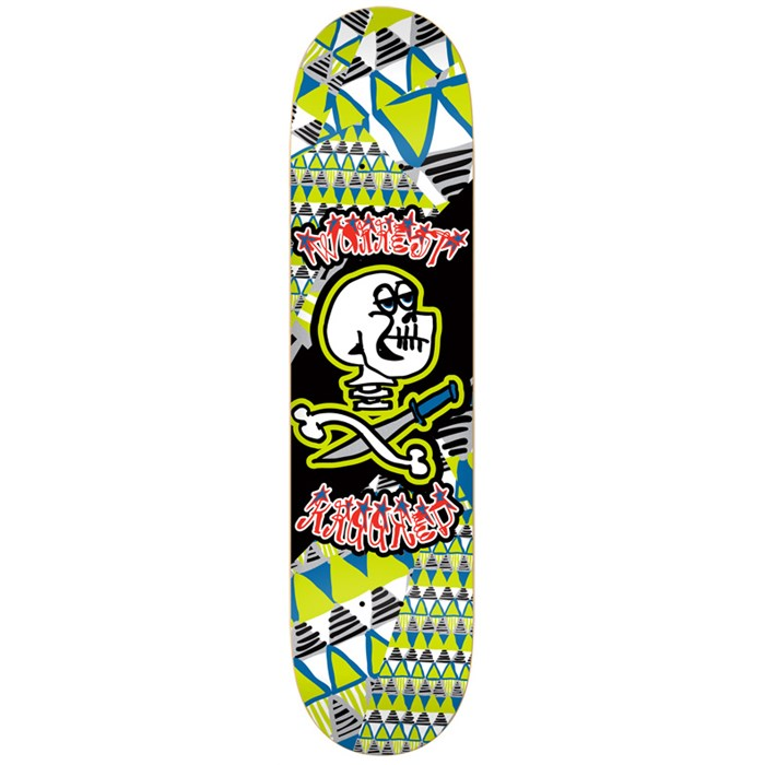 Krooked - Worrest Skullstar Skateboard Deck