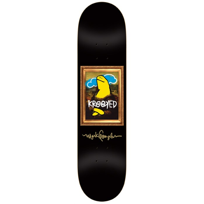 Krooked - Gonz Vandaleyes Skateboard Deck