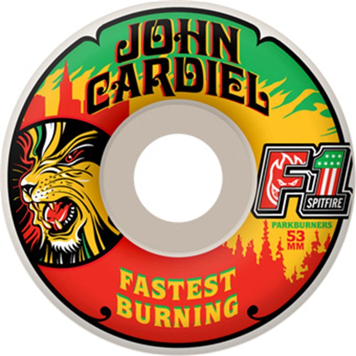Spitfire - F1 Park Burners Cardiel Fast Burning Skateboard Wheels