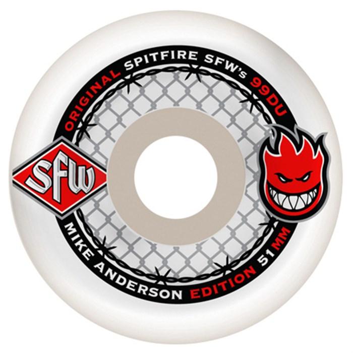 spitfire wheels. spitfire - anderson sfw skateboard wheels